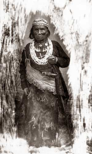 Transvestite Male Shaman, Hupa, North Coast, California